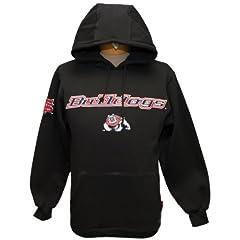 New! Black NCAA California State University Fresno Bulldogs Pullover Hoodie Medium... by NCAA