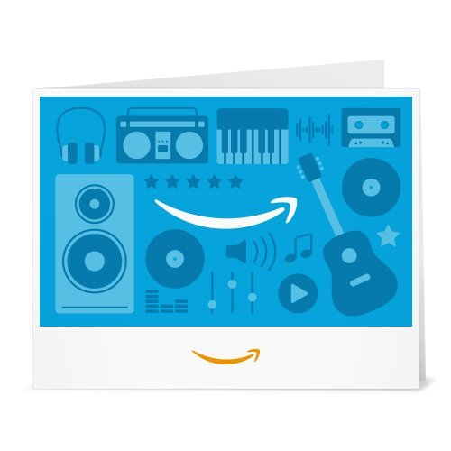 Amazon Gift Card - Print - Music Icons (Amazon Music Card compare prices)