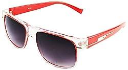 Viaano Wayfarer Sunglasses (Red, VI-TW16-03)