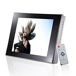 eStarling ImpactV 8-Inch Wi-Fi Connected Digital Photo and Video Frame