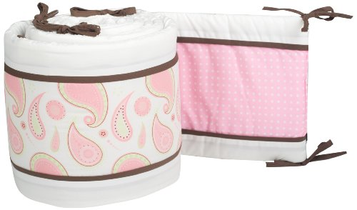 Pam Grace Creations Crib Bumper, Pam's Paisley
