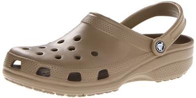 Crocs Classic Unisex - Khaki - UK 4