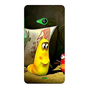 Cute Naughty Friendly Cartoon Back Case Cover for Lumia 535