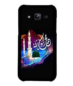 printtech Allah Mosque Muslim Back Case Cover for Samsung Galaxy J2::Samsung Galaxy J2 J200F