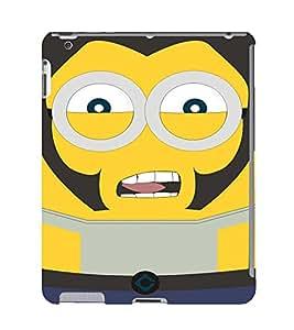 EPICCASE Movie Star Minion Mobile Back Case Cover For Apple Ipad 2/3/4 (Designer Case)