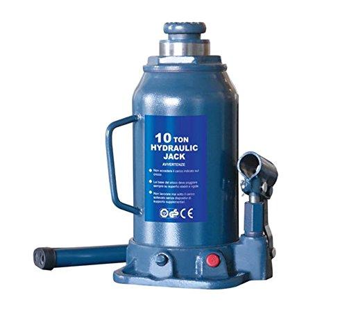 Hydraulischer-Flaschen-Wagenheber-Hydraulik-Stempelwagenheber-Wagen-Heber-Hubkraft-10-t-TVGS-geprft