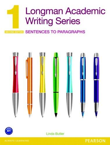 Longman Academic Writing Series 1: Sentences to Paragraphs (2nd Edition)