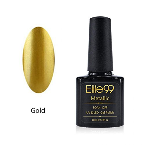 Graceful-Top-Coat-Soak-Off-Metal-Base-Capacity-10ml-Nail-Polish-Gold-Colors-Code5914