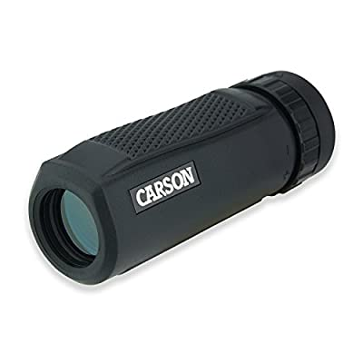 Carson BlackWave 10x25mm Waterproof Monocular (WM-025) by Carson Optical, Inc