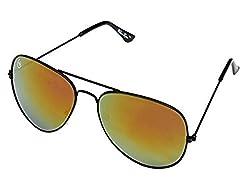 William Cooper Aviator Sunglasses (Black) (WCX-5075-C10)