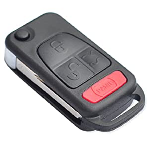New remote flip key shell for mercedes benz for Mercedes benz remote key