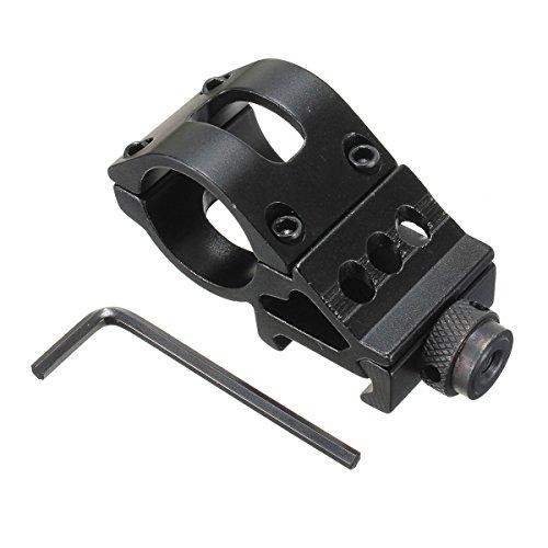 WINOMO 25mm Offset Ring Side Mount for FlashlightLaser