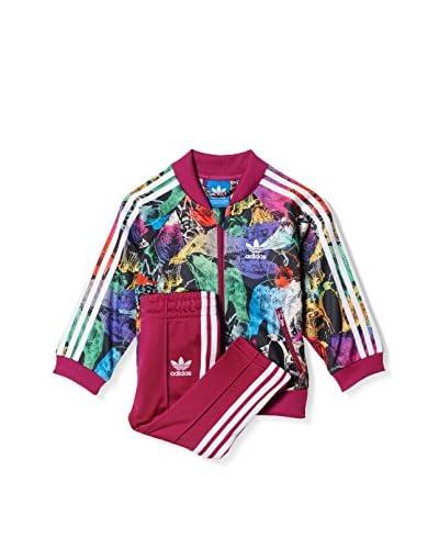 adidas Trainingsanzug I Animal Sst himbeere/mehrfarbig