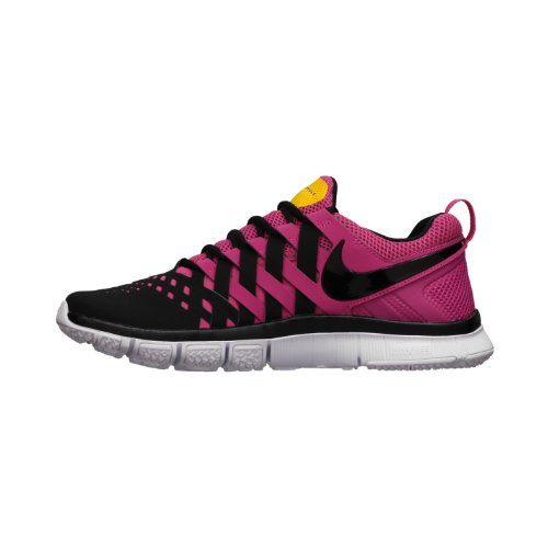 quite nice d662d e7fc3 NIKE FREE TRAINER 5 0 MENS 579805 607 Running SHOES Black Pink Mens Size 11  5