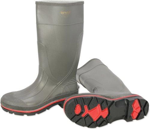 Honeywell Safety 75102-9 Servus Pro Men's Safety Hi Boot, Size-9, Grey/Red/Black