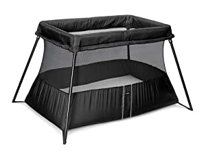 BABYBJÖRN Travel Crib Light 2 in Black
