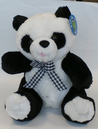 Kuscheltier Teddy Bär Panda, 27cm hoch, kuschelig