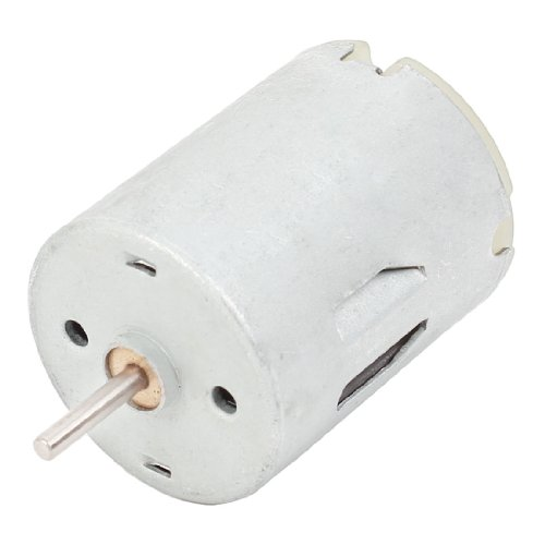 24Mm Body Dia Metal Housing Magnetic Micro Motor 13500Rpm 0.12A Dc 12V front-625484