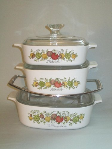 set-of-3-vintage-1970s-corning-ware-spice-o-life-covered-casserole-baking-dishes-w-rack-1-liter-15-l