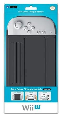 Plaque frontale noir pour Wii U