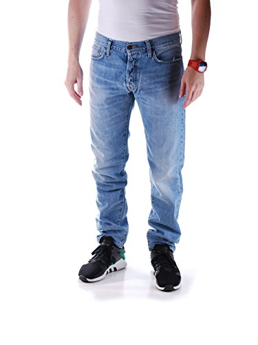 carhartt-wip-uomo-jeans-tapered-fit-klondike-edgewood-bleu-clair-delave-pour-homme-