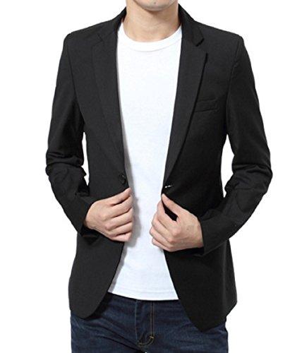 [ゼンアン]ZENAN 細身 テーラードジャケット モノトーン ビジネス きれいめ きちんと感 v系 お兄系 日本正規品