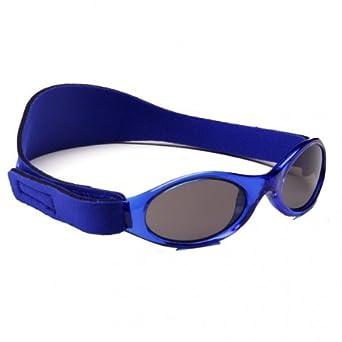 fad4ab8c0b11e8 Baby Banz - Lunettes de soleil - Bébé (garçon) 0 à 24 mois - Bleu - Bleu - Taille  unique (