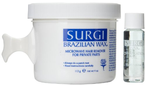 Surgi- Wax Brazilian Microwave Remover Kit