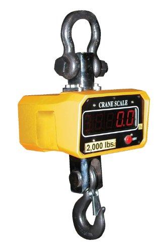 "Vestil SC-6 Crane Scale, 7-5/8"" Width, 17"" Height, 8"" Depth, 6000 lbs Capacity"