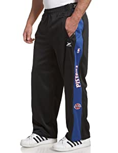 Detroit Pistons NBA Team Panel Pant With Zipway Shell by Zipway