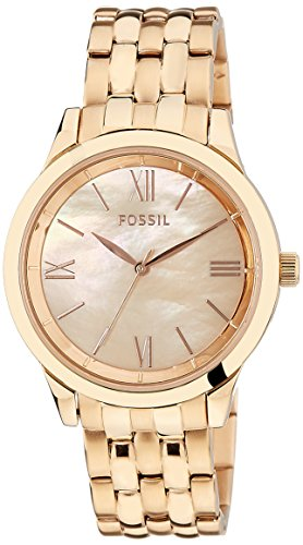 Fossil Ainsley Ro Analog Pearl Dial Women's Watch -BQ1756