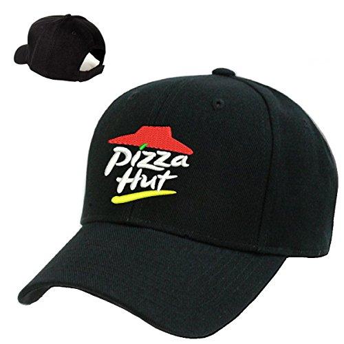 pizza-hut-black-embroidery-adjustable-baseball-cap-souvenier-gift-unique-hat