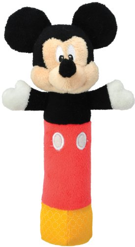 Kids Preferred Disney Baby, Mickey Mouse Stick Rattle - 1