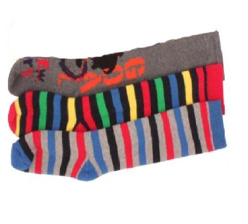 3-x-Boys-Kids-Children-Wellington-Welly-Motif-Design-Thermal-Warm-Long-Socks