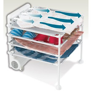 Drying Rack: Hamilton Beach 11510 4 Shelf Garment Drying Station