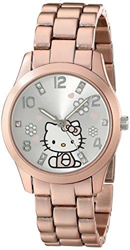 Hello Kitty Girl'S Hkaq2586 Analog Display Quartz Pink Watch