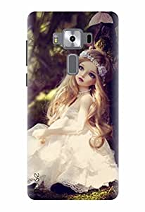 Noise Designer Printed Case / Cover for Asus Zenfone 3 Deluxe ZS570KL with 5.7 Inch screen size/ Graffiti & Illustrations / Princess Doll Design