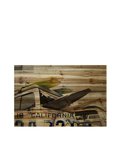 Parvez Taj Cali Day Pine Wood Wall Art
