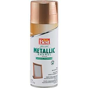 Do It Best Indoor Metallic Metalc Brass Spray Paint