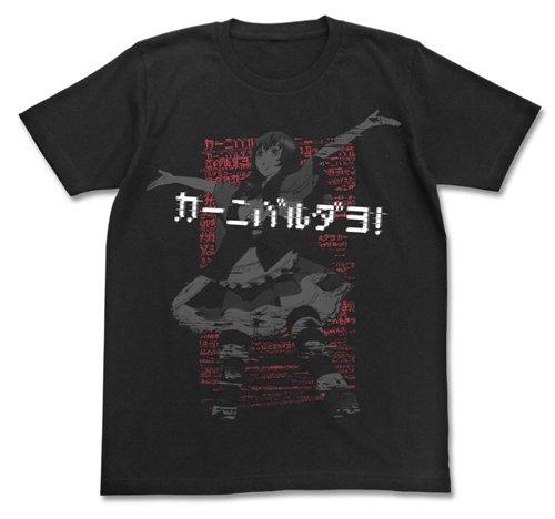 劇場版 蒼き鋼のアルペジオ -アルス・ノヴァ- Cadenza カーニバルだよTシャツ ブラック XLサイズ
