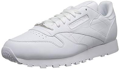 Reebok Men's Classic Leather White/White/White 6.5 M US
