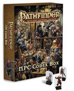 Pathfinder Roleplaying Game : Npc Codex Box--by Erik Mona [2013 Edition] (Npc Codex Box compare prices)