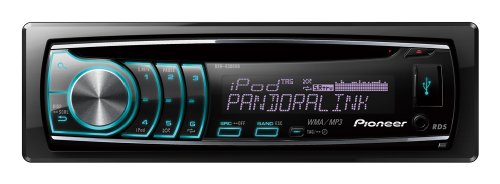 Pioneer DEH-6300UB CD Receiver with iPod/iPhone Control, Pandora player and MultiColor LCD
