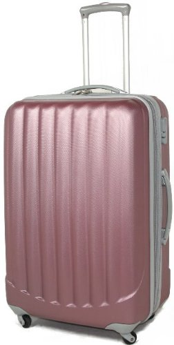 PINK 360° Rollensystem Reisekoffer Koffer Trolley