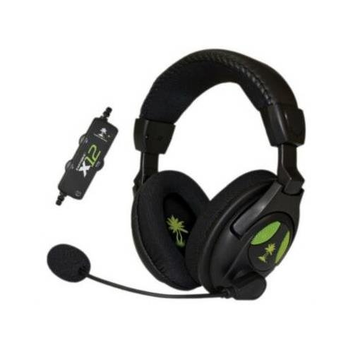 Turtle Beach Tbs-2255-01 Earforce X12 Headset Black