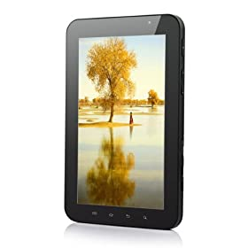 P10 7 Inch Google Android 2.3 ARM Cortex A8 1024mhz Mobilephone and Tablet Pc