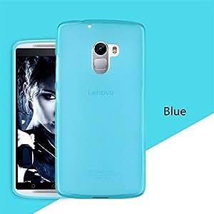 Grafins Soft Matte Back Cover for Lenovo Vibe K4 Note (Blue)