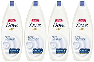 Cheapest Dove Body Wash, Deep Moisture 22 oz, Pack of 4 by Dove - Free Shipping Available