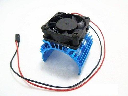 Hobbypower Alloy Heatsink W/ 5V Cooling Fan For 1/10 Car 540 3650 Size Motor