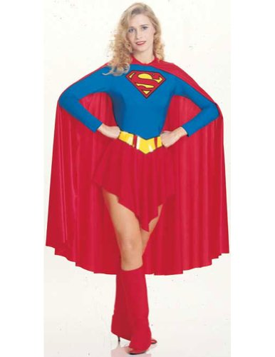 Supergirl Adult Medium Halloween Costume - Adult Medium